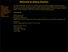 Tablet Preview of albanystarfish.org